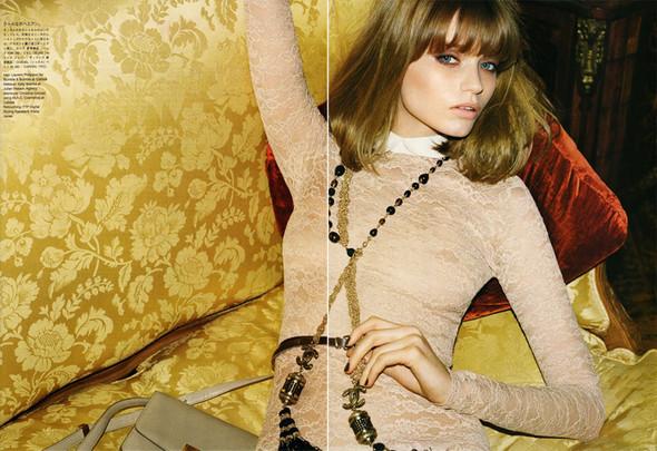 5 новых съемок: Elle, Harper's Bazaar, Numero и Vogue. Изображение № 41.