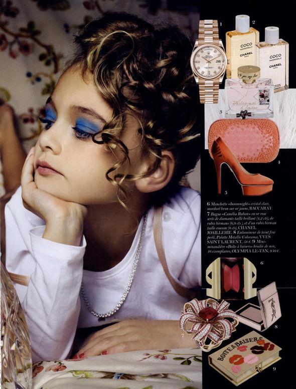 Маленькие модели в Vogue Paris. Изображение № 5.
