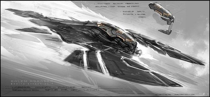 Художник «Восхождения Юпитер» выложил концепты к фильму. Изображение № 3.