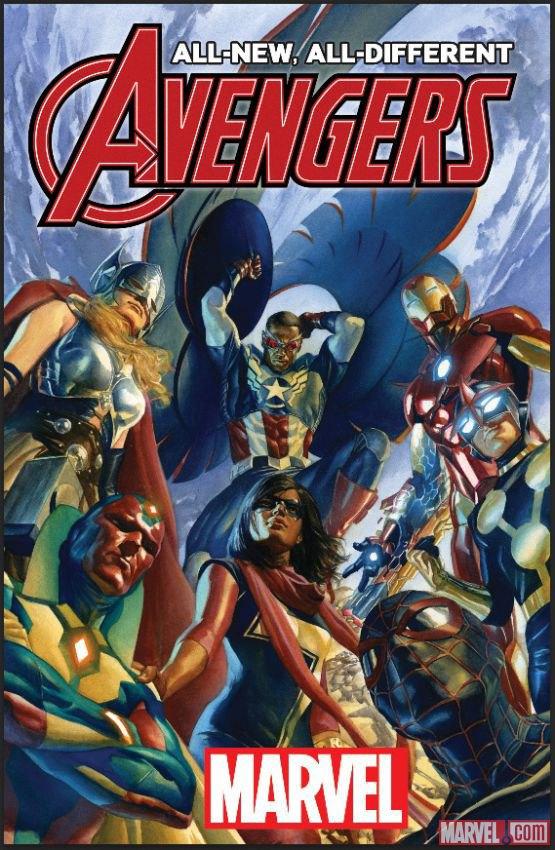 Marvel показала первый состав Мстителей после полного перезапуска . Изображение № 1.