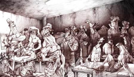 ВЫЗЫВАЮЩИЕ РАБОТЫ «ТРЁХ МУШКЕТЁРОВ». Изображение № 50.