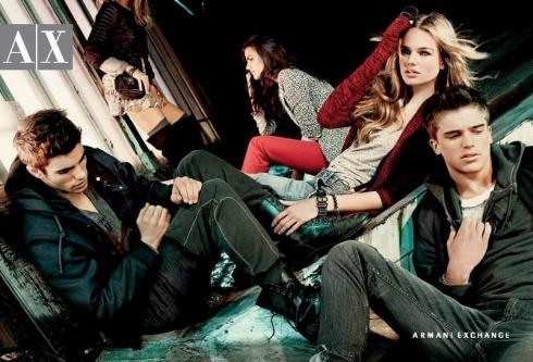 Кампания: Armani Exchange FW2011. Изображение № 8.