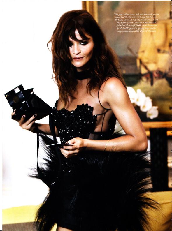Съёмка: Наоми Кэмпбелл, Хелена Кристенсен, Синди Кроуфорд и другие для Harper's Bazaar. Изображение № 13.