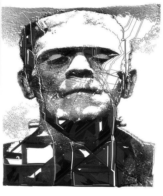 Робот рисует за художника его картины. Изображение № 4.