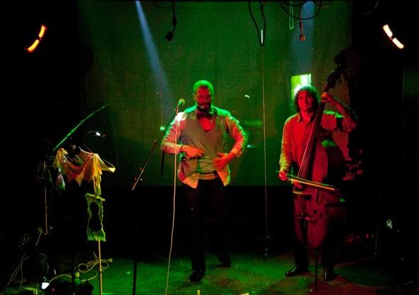 Театр Ахе в клубе Dusche. Изображение № 33.