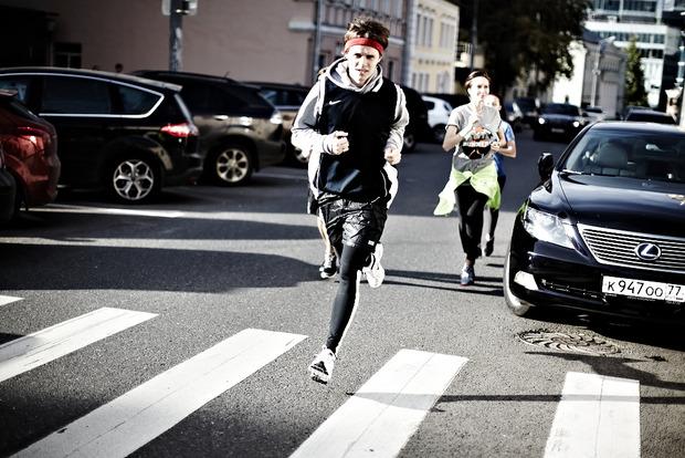 «WE RUN» art by Moskva River Runners. Изображение №24.
