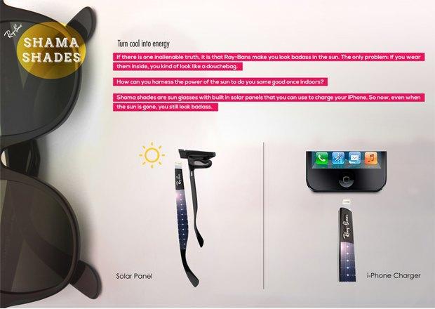 Очки Ray Ban помогут зарядить iPhone. Изображение № 1.