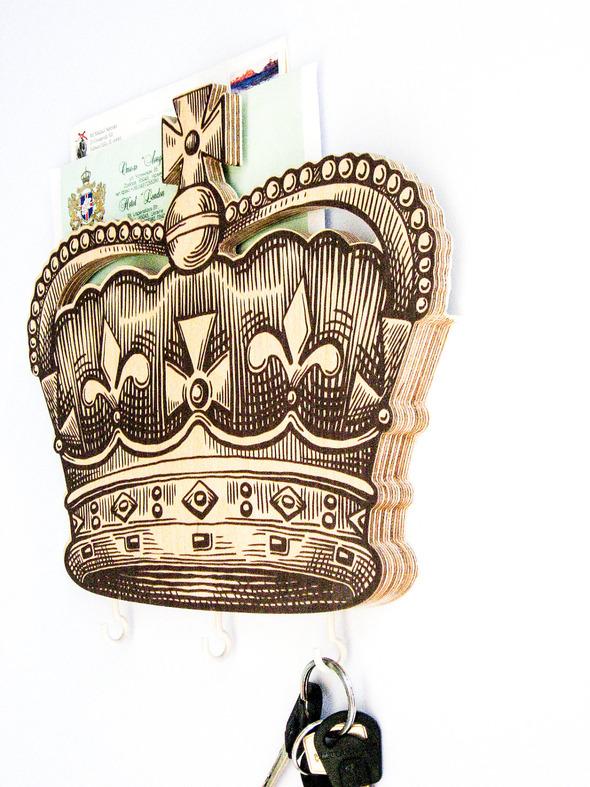Стильные настенные вешалки от дизайн-ателье Article. Изображение № 7.