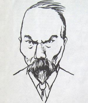 Карикатуры на писателей. Изображение № 23.