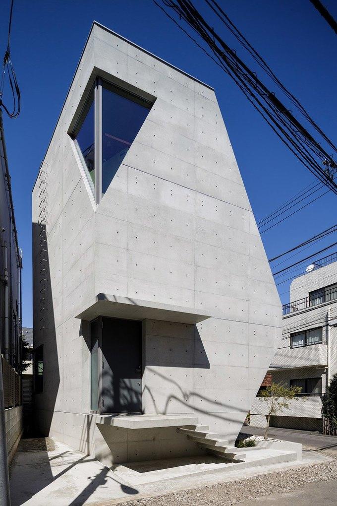 Архитектура дня: дом для химиков из экологичного бетона . Изображение № 1.