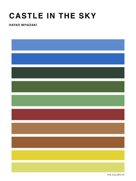 Дизайнер выбрал цвета из фильмов Миядзаки и Disney. Изображение № 2.