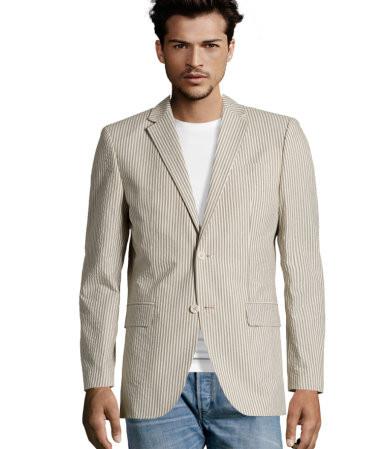 Быть Томом Вулфом или мужское искусство носить белый пиджак. Изображение № 12.