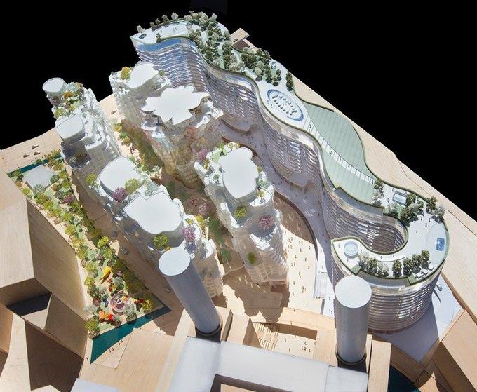 Фрэнк Гери и Норман Фостер застроят территорию электростанции с обложки Pink Floyd. Изображение № 8.