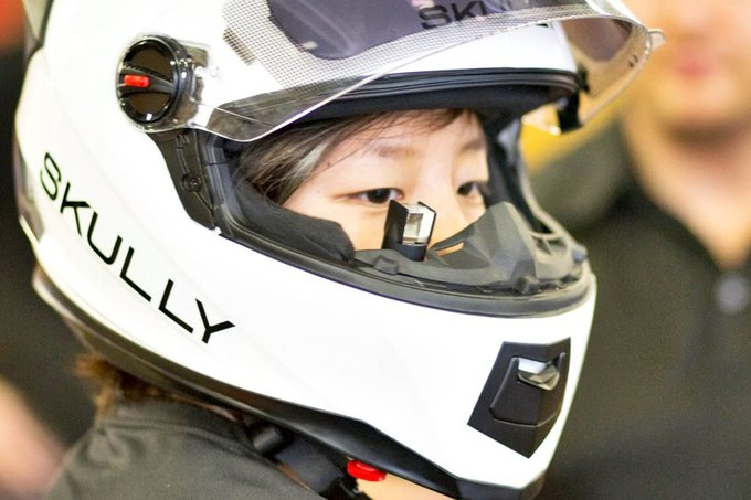 «Умный» мотоциклетный шлем собрал 870 тысяч долларов за два дня . Изображение № 1.