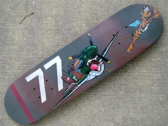 К доске: 10 художников-скейтбордистов. Изображение №33.