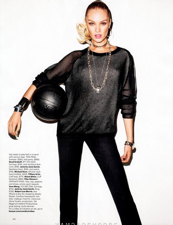 Съёмка: Терри Ричардсон для Harper's Bazaar. Изображение № 7.