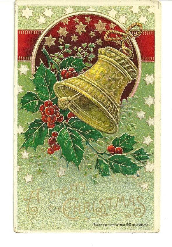 Новогодние открытки 1912 года. Изображение № 14.