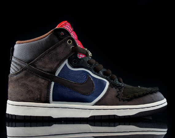 Nike Dunk High Jekyll & Hyde кастомизация от Revive. Изображение № 4.