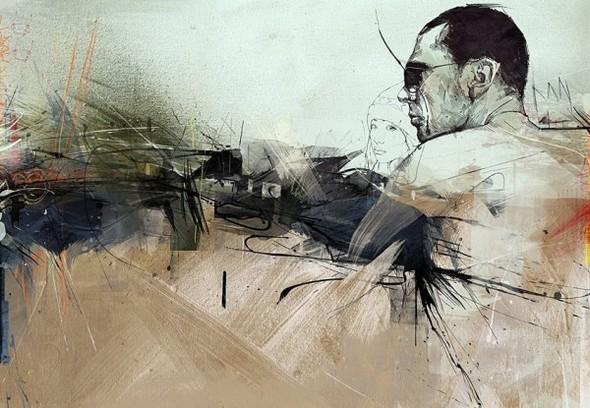 Russ Mills : графика, фотография и живопись. Изображение № 41.