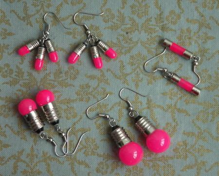 Потрясающие сережки-лампочки отTWoo. Изображение № 11.