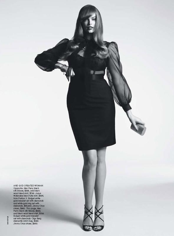 Съёмка: Робин Лоули для австралийского Vogue. Изображение № 6.