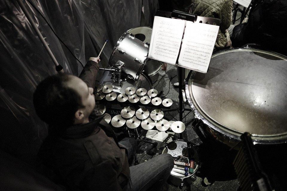 «Три четыре»: Фоторепортаж с репетиции оперы в подвале Москва-Сити. Изображение № 18.