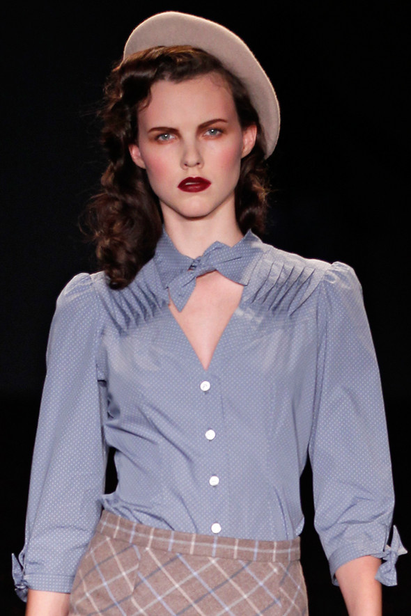 Berlin Fashion Week A/W 2012: Lena Hoschek. Изображение № 12.