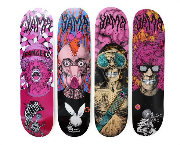 Дизайн скейтбордов отCarhartt иYama. Изображение № 1.