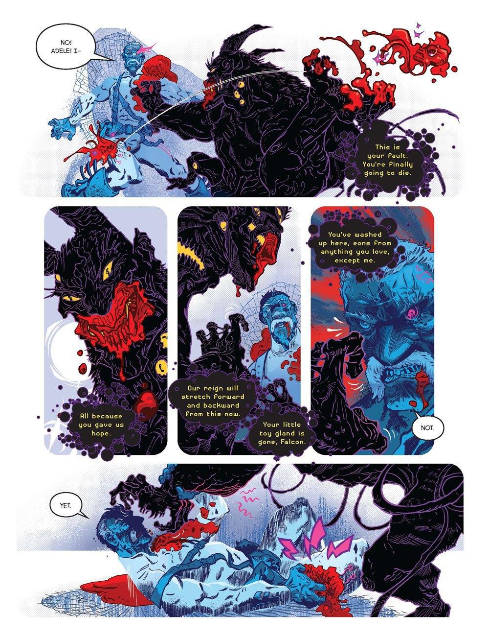 Как стать художником мирового издательства комиксов. Изображение № 8.