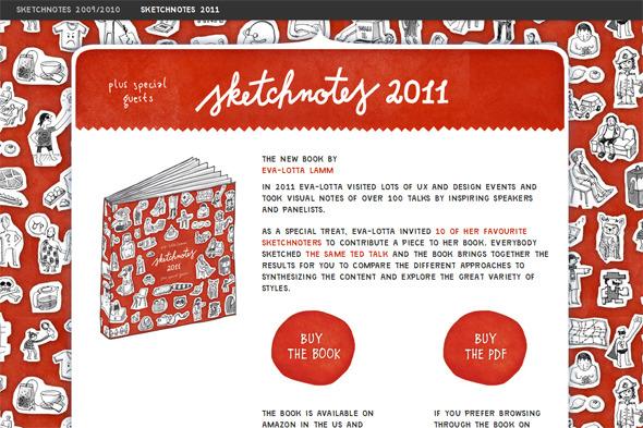 Ручная работа. Дизайн сайтов с рисованными элементами. Изображение № 12.