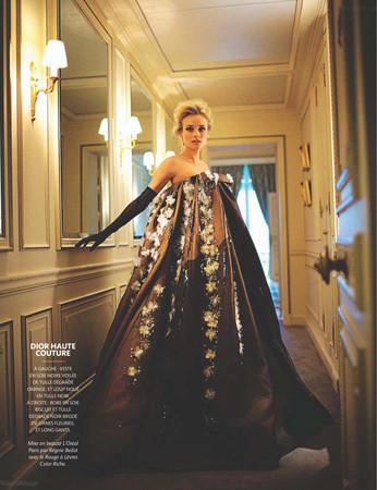 Съёмка из Madame Figaro, февраль 2011 . Изображение № 44.