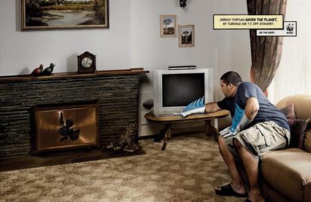 Социальная рекламная кампания фонда дикой природы WWF. Изображение № 5.