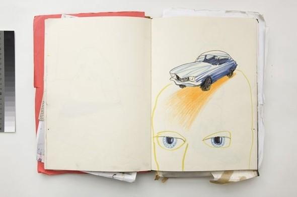 Абстрактные автомобили Бена Куильти. Изображение № 8.