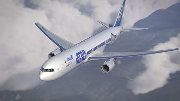 Авиакомпания показала перекраску самолёта под R2-D2. Изображение № 9.