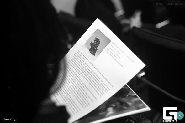 Пресс-конференция, посвященная международной выставке Rodin. Изображение № 1.