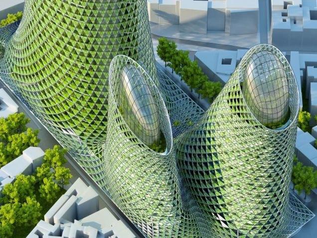 Концепт: экологически безопасный Париж. Изображение № 2.