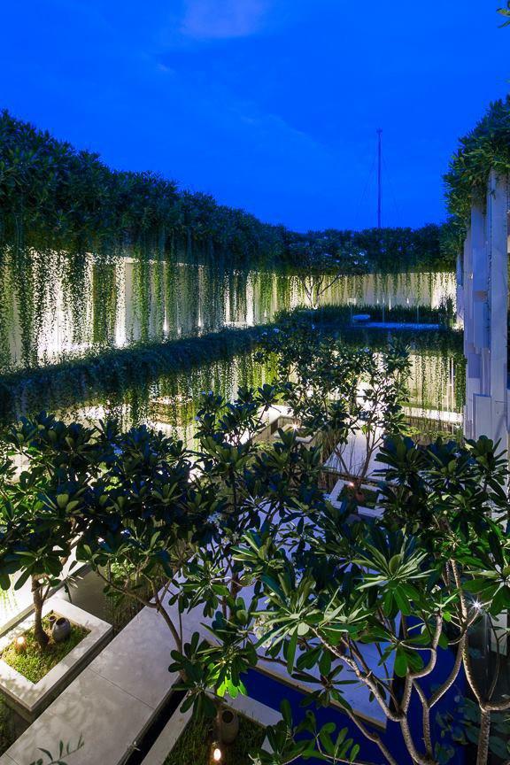 Архитектура дня: белый спа-центр во Вьетнаме с растениями на фасаде. Изображение № 28.