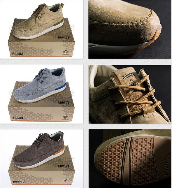 Первая коллекция обуви Addict. Изображение № 6.