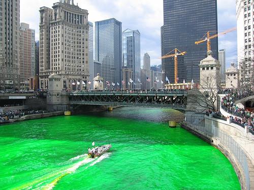 Изумрудные воды Чикаго. Изображение № 1.