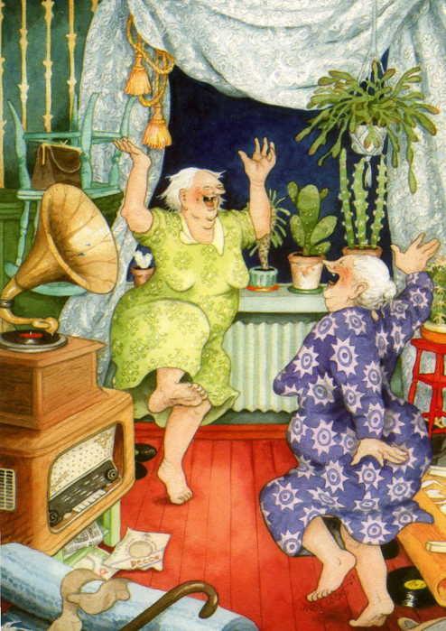 Inge Lооk - и развесёлые бабульки. Изображение № 5.