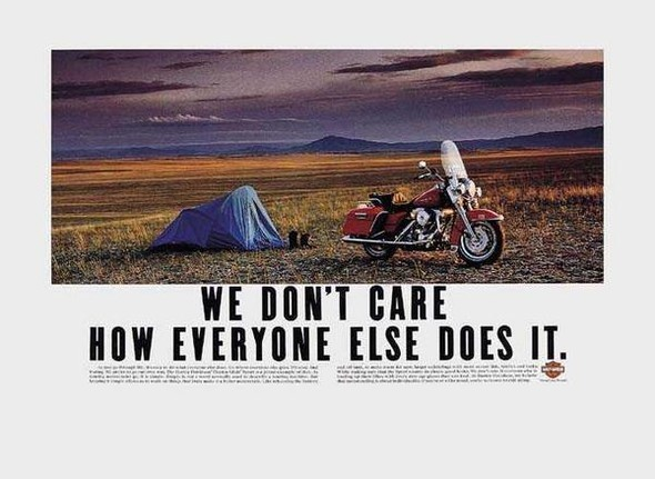 Harley Davidson: реклама легенды. Изображение № 9.