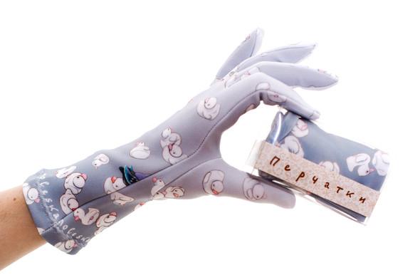 Цветные перчатки молодой марки Ena. Изображение № 9.