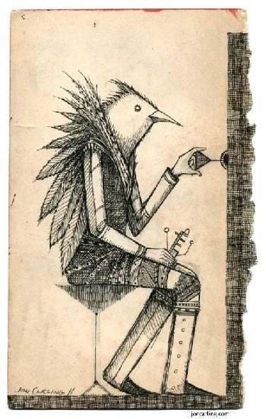 Jon Carling – мистерии в гелевой ручке. Изображение № 20.