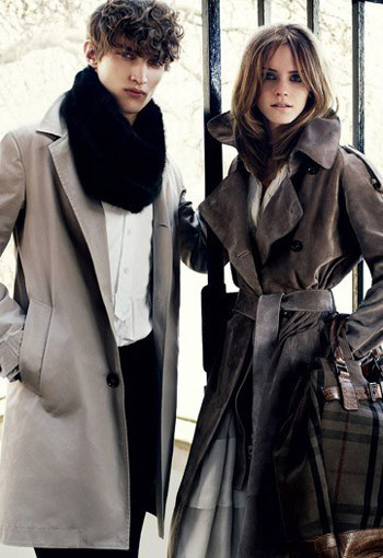 Emma Watson for Burberry : AutumnWinter 2009–2010. Изображение №5.