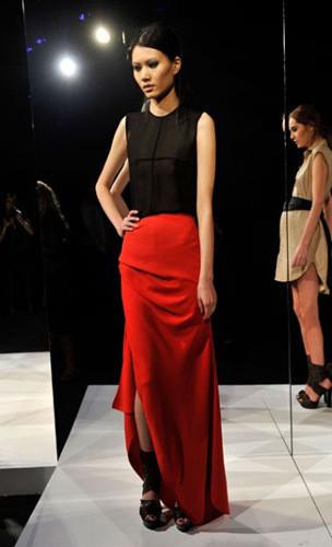 Lublu Kira Plastinina FW 2011 на показе на Нью-Йоркской неделе моды. Изображение № 28.