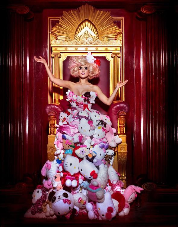 Lady Gaga & Hello Kitty Photoshoot. Изображение № 1.
