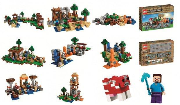 Российский магазин «слил» в Сеть новые наборы Lego Minecraft . Изображение № 1.