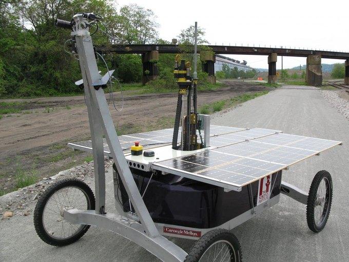 Аппарат Zoë (фото: SETI.org). Изображение № 1.