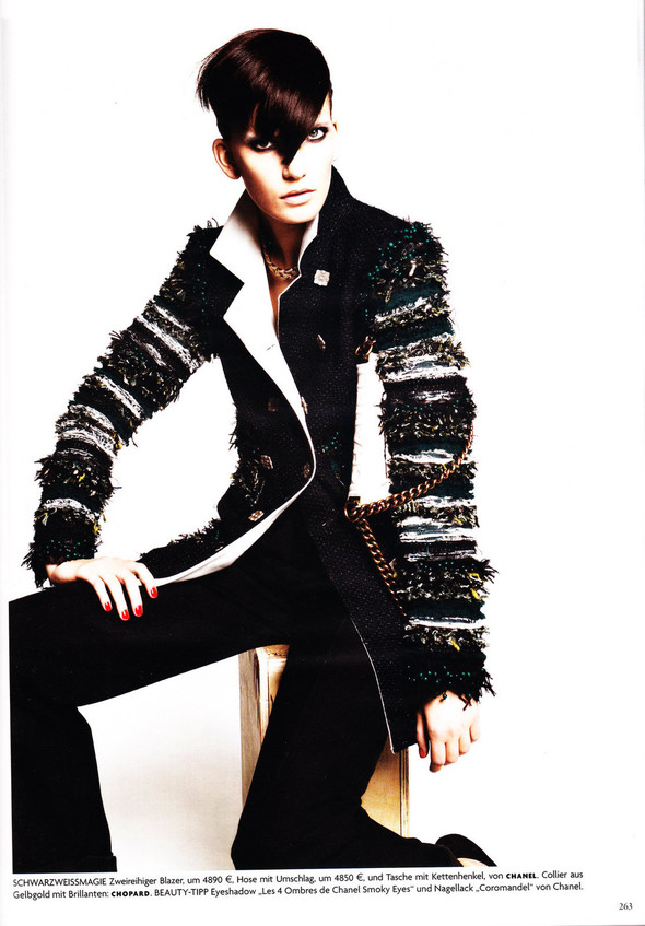 Съёмка: Хана Бен Абдесслем и Валерия Келава для Vogue. Изображение № 2.