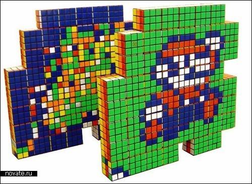 Картины изКубика Рубика. Изображение № 3.